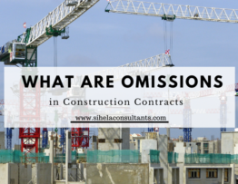 Omissions in Construction Contracts